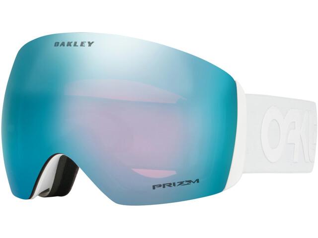 Oakley Flight Deck Lunettes de protection Homme, white/w prizm sapphire iridium